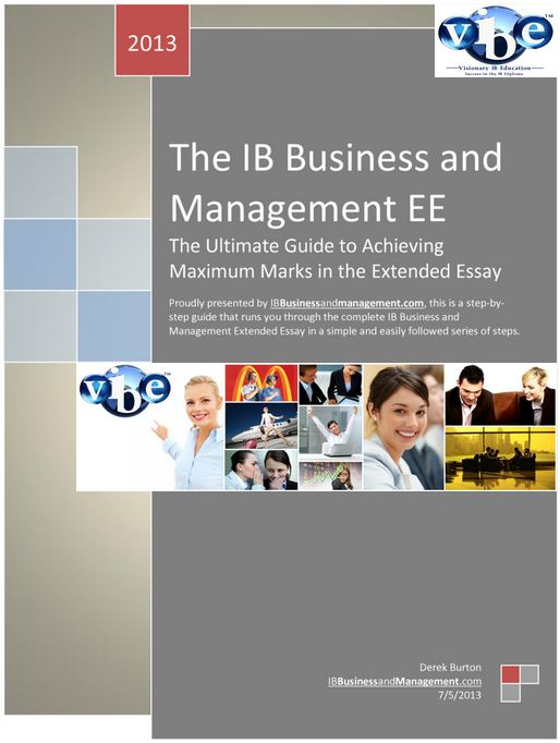extended essay in business and management for ib
